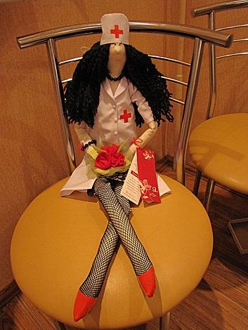 кукла Тильда медсестра