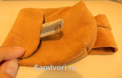 мишка тедди с рюкзачком своими руками
