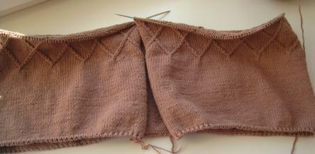вязаное пальто для девочки пошаговые фото