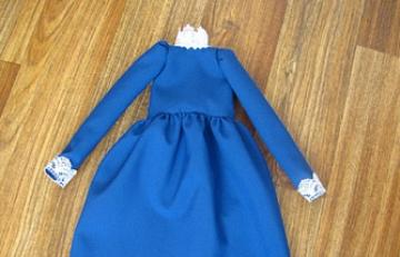Платье, коглотки и туфли для Мери Поппинс в стиле тильда