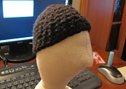 Оформляем лицо тильды, делаем парик